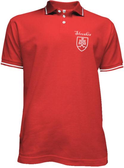 Polokošeľa Slovakia Francis - červená
