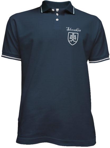 Polokošeľa Slovakia Francis - modrá