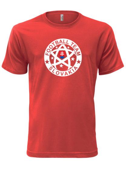 Pánske tričko Slovakia Football Team - červené
