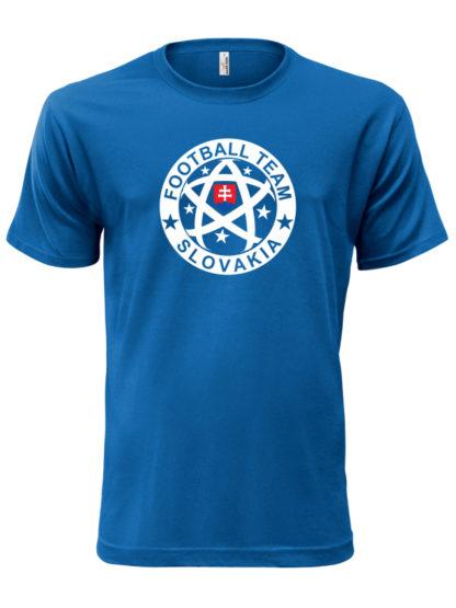 Pánske tričko Slovakia Football Team - modré