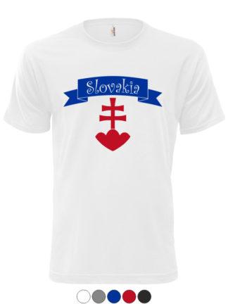 Pánske tričko Slovakia Retro Erb