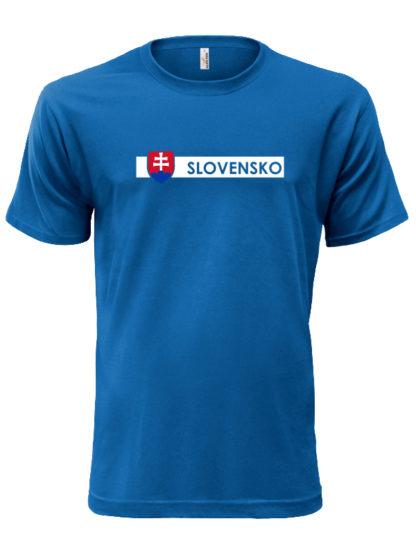 Pánske tričko Slovensko Line - modre