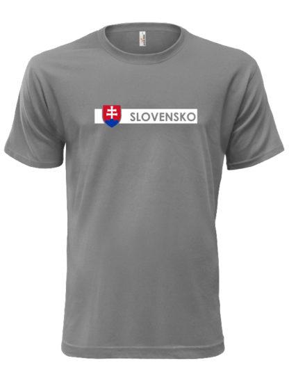 Pánske tričko Slovensko Line - sive