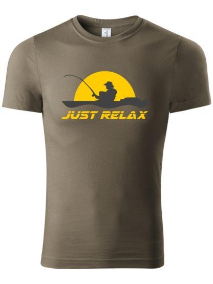 Pánske tričko Rybársky Relax