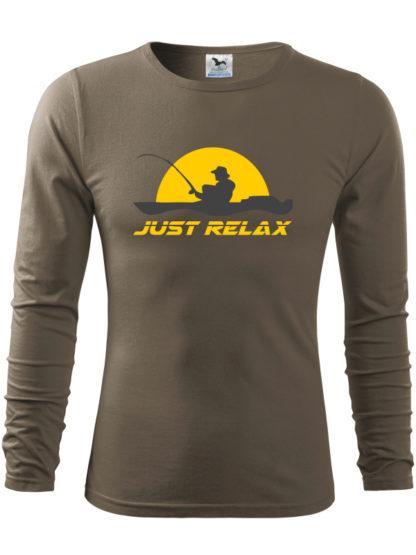 Pánske rybárske tričko Relax