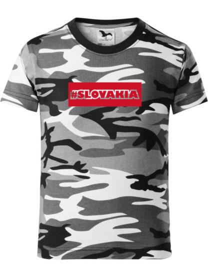 Detské tričko #Slovakia Army