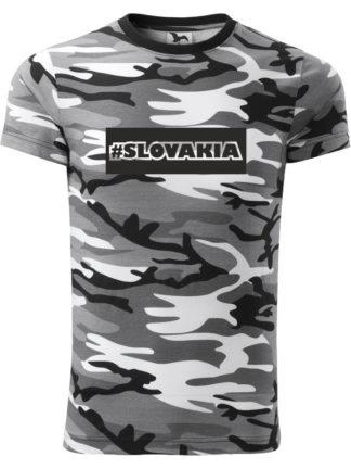 Pánske tričko #Slovakia Army