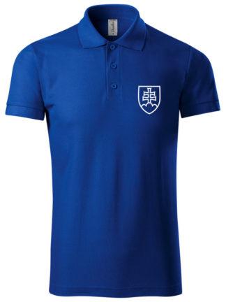 Pánska polokošeľa Slovakia modrá