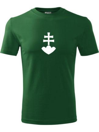 Pánske Tričko Zelený 2kríž