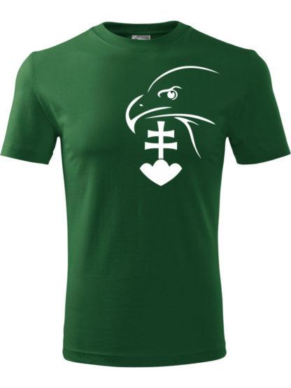 Pánske Tričko Zelený Sokol