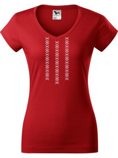 Dámske tričko Ornamnet Čičmany 3