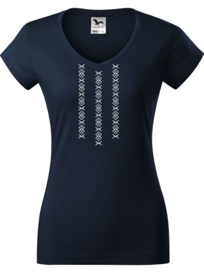 Dámske tričko Ornamnet Čičmany 2