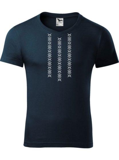 Pánske tričko Ornament Čičmany 3